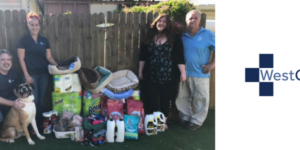 westcmr supply drive for suncoast animal league
