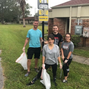 Pinellas Trail clean up event