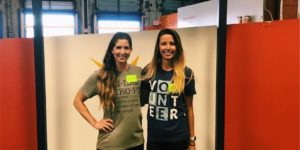 WestCMR's Cassie Pilawski and Elise Fontaine at Feeding America