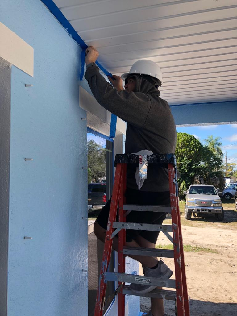 WestCMR Volunteers Join Habitat for Humanity to Help Local Family